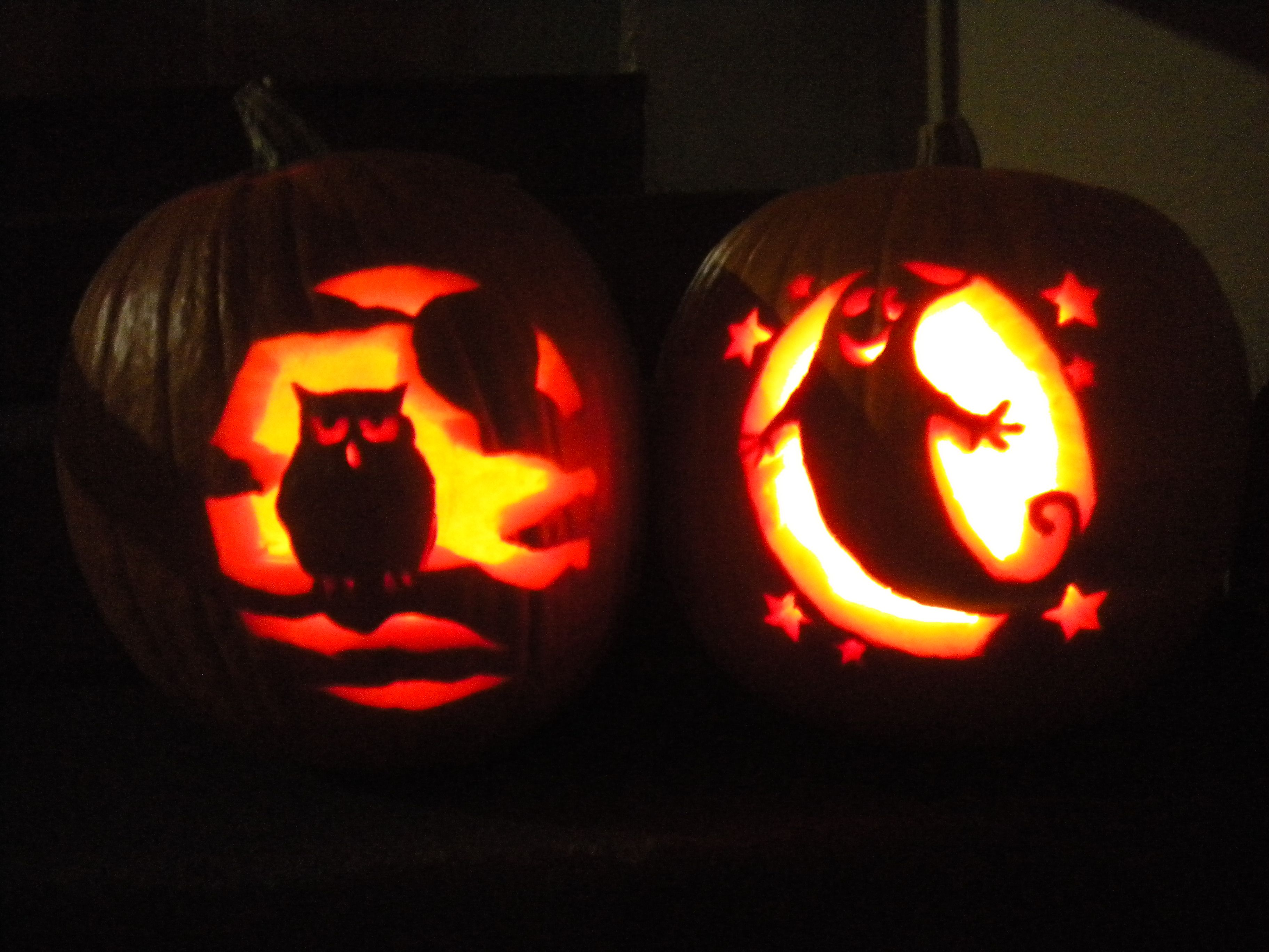 Cool Cat Pumpkin Carving Ideas- #images